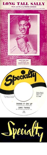 BLUES specialty records