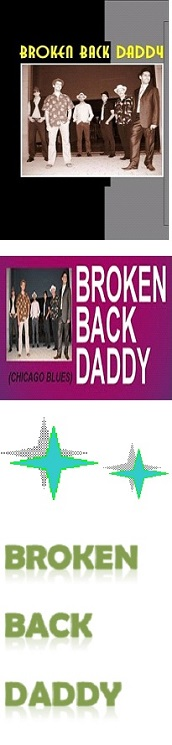 BLUES BROKEN BACK DADDY