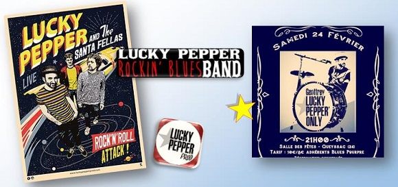 Blues geoffrey lucky pepper