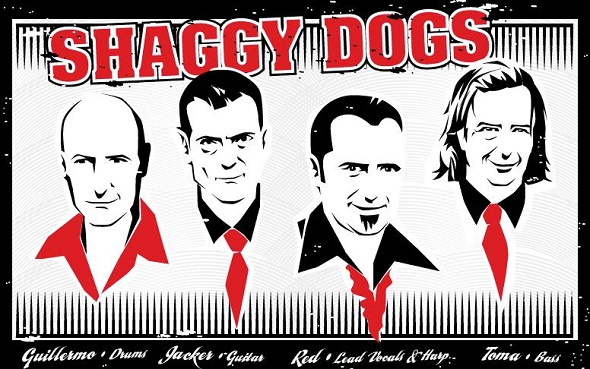 shaggy dogs
